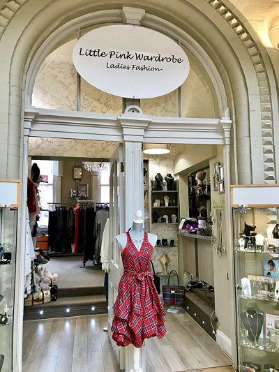 The Hidden Wardrobe shop in Huddersfield
