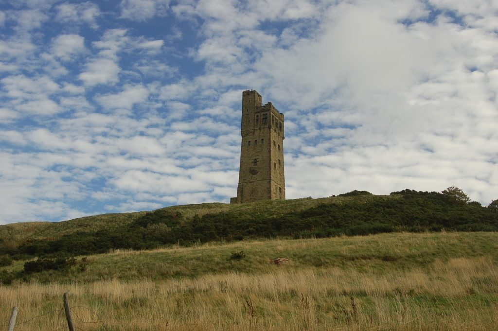Castle Hill and Victoria Tower Huddersfield