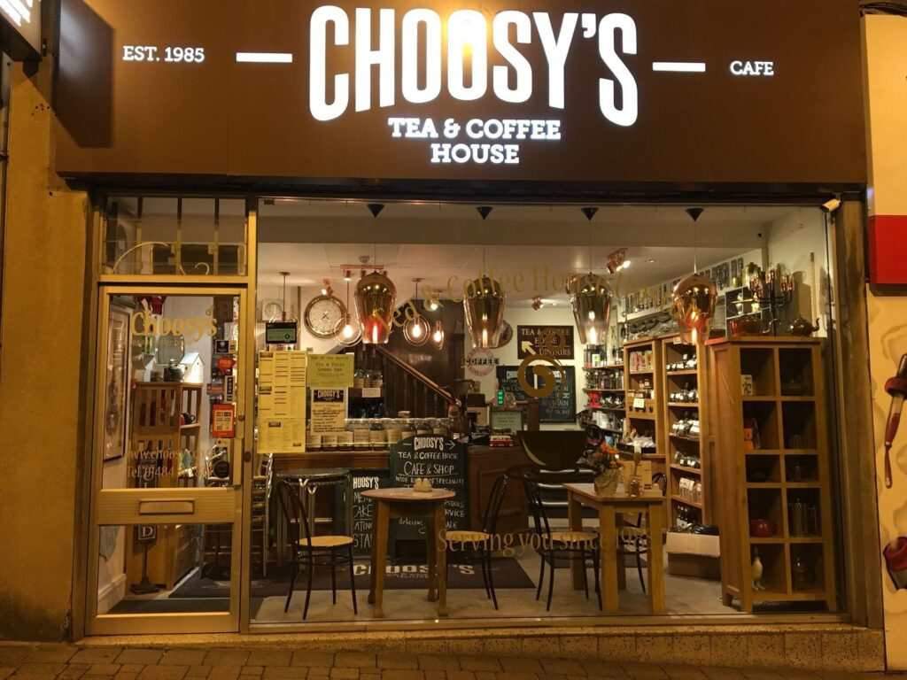 Choosys Tea & Coffee in Huddersfield