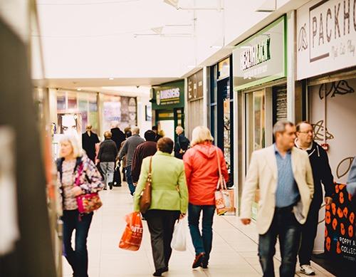 Packhorse Shopping Centre In Huddersfield