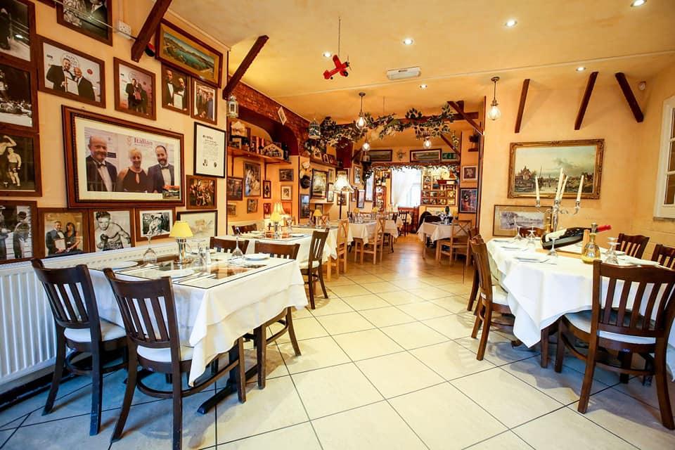Trattoria Domenico restaurant in Huddersfield