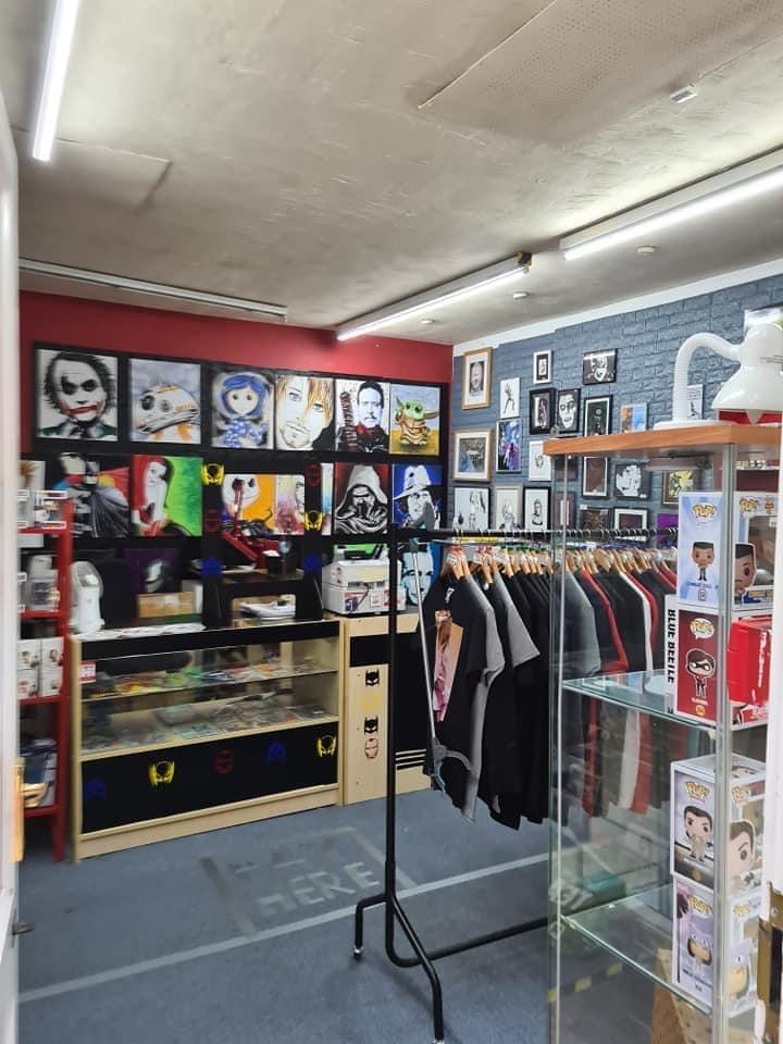 Diversions Pop Culture shop in Huddersfield